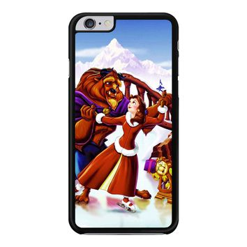 Beauty And The Beast Christmas Snow iPhone 6 Plus / 6S Plus Case