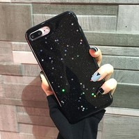 Bling Glitter Soft Silicone Case For iPhone 7 6 6S Plus Cute Star Cover Shining Coque Case For iPhone 6 7 6S Plus iphone 8 X 10