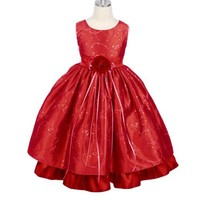 Girls Christmas Holiday Dress (Assorted Colors) Size Little to 12