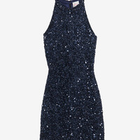 Parker EXCLUSIVE Racer Back Sequin Dress-Dresses-Clothing-Categories- IntermixOnline.com