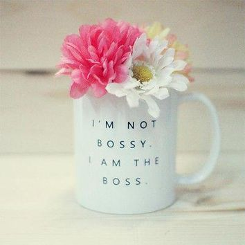 I'm Not Bossy I Am The Boss Mug  Funny 11 Oz Coffee Mug Cup Gift