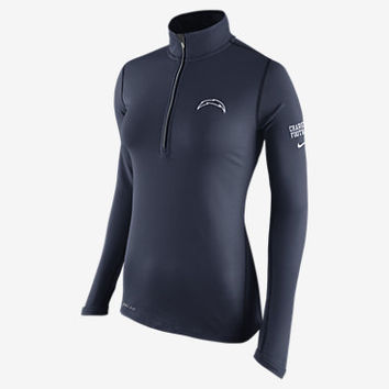 NIKE TAILGATE ELEMENT HALF-ZIP (NFL CHARGERS)