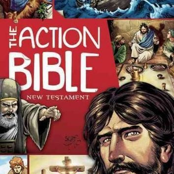 The Action Bible New Testament (Picture Bible)