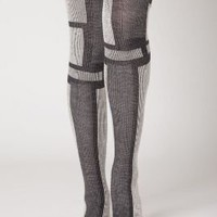 Greyblock Tights - Anthropologie.com