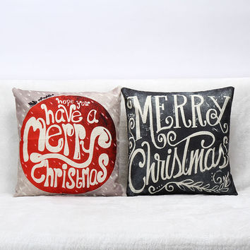 Sofa Cushion Hot Sale Linen Home Cushion Cover [7992919297]