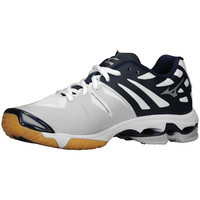 Mizuno Wave Lightning Z Women's Volleyball Shoes - White Navy