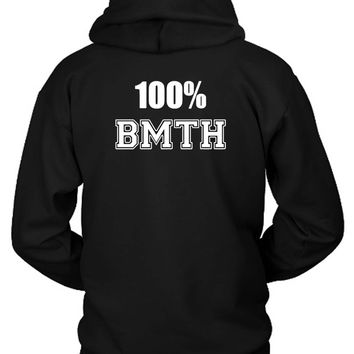 Bring Me To The Horizon 100 Bmth Hoodie Two Sided
