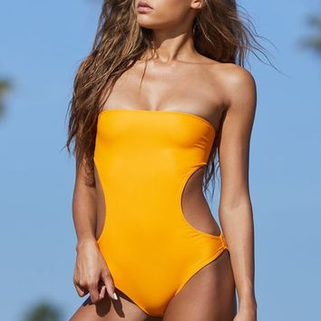 Aila Blue Tanzania One Piece Swimsuit at PacSun.com