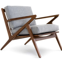 Soto Concave Arm Chair by Joybird