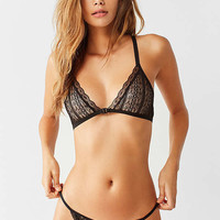 Out From Under You Wish Lace Tanga   Urban Outfitters