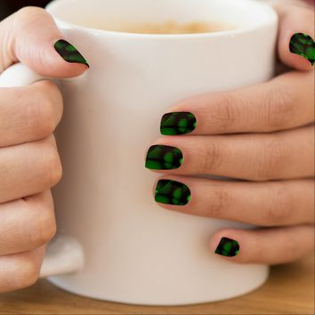 Forest Green Minx® Nail Art