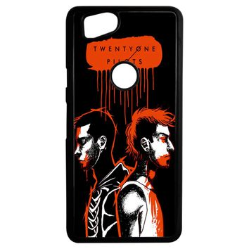 Twenty One Pilots Josh Dun And Tyler Joseph Art Google Pixel 2 Case
