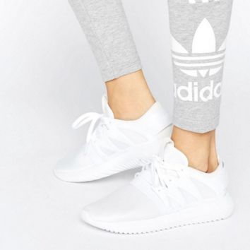 adidas Originals White Tubular Viral Sneakers