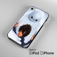Big Hero 6 Hug A0887 iPhone 4S 5S 5C 6 6Plus, iPod 4 5, LG G2 G3, Sony Z2 Case