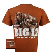 Texas Longhorns Loyalty Runs Deep Dog Country Unisex Bright T Shirt