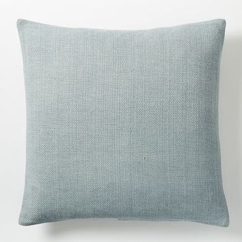 Silk Hand-Loomed Pillow Cover - Moonstone