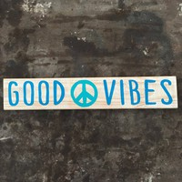 Good vibes, Peace decor, Boho decor, Peace wall art, Peace wall decor, Boho wall art, Good vibes wall decor, Hippie decor, Good vibes only