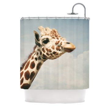 "Angie Turner ""Giraffe"" Animal Shower Curtain"