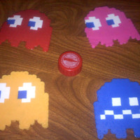 Pac-Man Ghost Refrigerator Magnet
