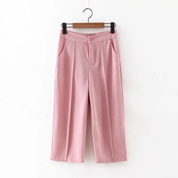 Summer Korean Stylish High Rise Pants [4919982276]