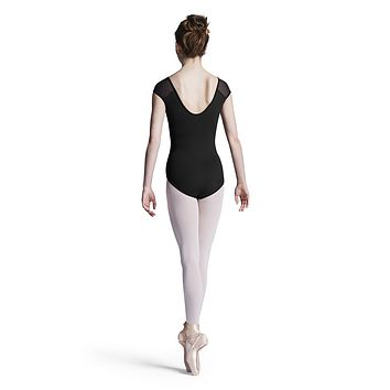 Printed Back Scoop Cap Sleeve Leotard L8162 by Bloch