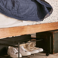 Frame Rolling Shoe Rack - Urban Outfitters