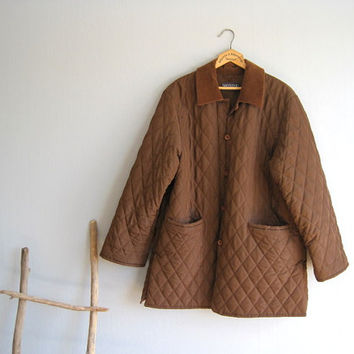Max Mara Weekend jacket brown woman autumn winter coat vintage quilted jacket loose designer clothes