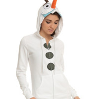 Disney Frozen Olaf Girls Costume Hoodie