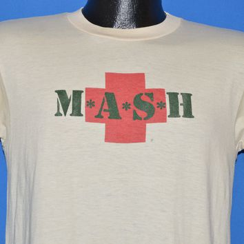 80s M*A*S*H TV Show t-shirt Medium
