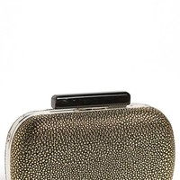 Expressions NYC Pebbled Box Clutch | Nordstrom