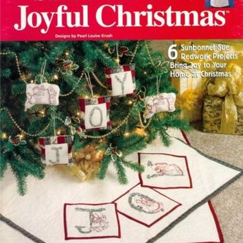 House White Birches Sunbonnet Sue's Joyful Christmas Quilting Patterns Book NEW