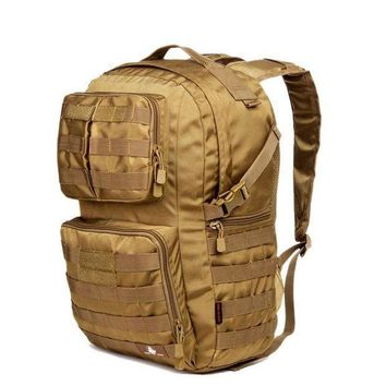 ICIK7N3 Hot 40L Outdoor Camouflage Military Tactical Backpack Rucksacks Sports Bag for Camping Hiking Hunting Bags D507
