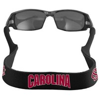 Croakies South Carolina Gamecocks Black XL Neoprene Retainer Sunglasses Holder