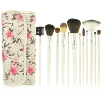 DCCKJ6E Professional Makeup Brush Sets 12-pcs Rose Brush [9647074767]