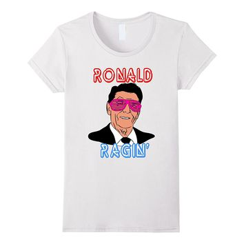 Ronald Ragin Reagan Sunglasses Independence 4th July Shirt