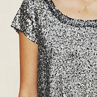 Free People  Clothing Boutique > Sparkle Sand Dunes Tee