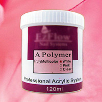 New 2014 Nail Art System Acrylic Powder Manicure Nail Acrylic Powder Crystal Powder 3 colors