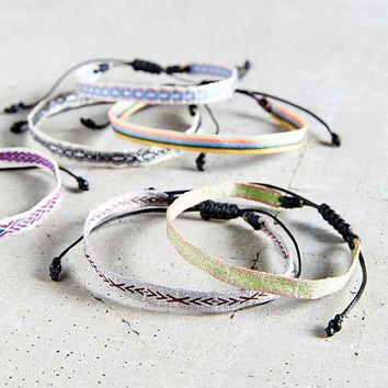 Guanabana Woven Layering Bracelet- Assorted One