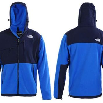 The North Face Men's Denali Fleece Jacket Blue