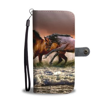 Wild Horses Phone Wallet Case