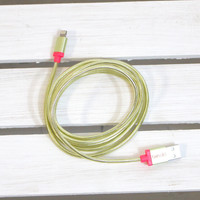 Back Me Up Charging Cord {Gold}