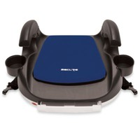 Secure RPM Deluxe Booster Car Seat with Latch in Blue