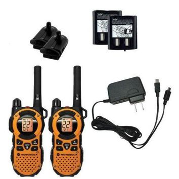 DCK4S2 Motorola MT350R FRS Weatherproof Two-Way - 35 Mile Radio Pack - Orange