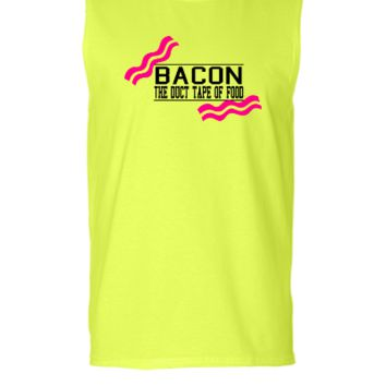 Bacon- Duct tape of food - Vector - Sleeveless T-shirt