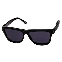 Le Specs - Whaam! Black & Satin Black Metal Sunglasses