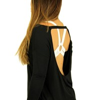 oGorgeous Gym Boutique - Breezy Backless Pullover