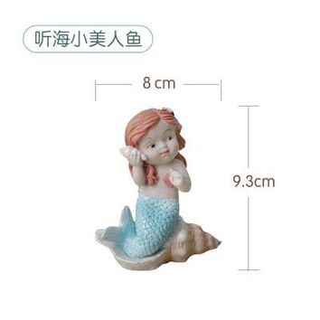 silicone mold Mermaid wedding birthday fondant cake decoration cute listien to the sea mermaids mould for cake decorations