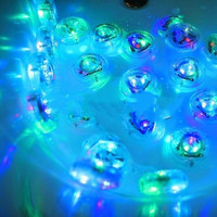 Waterproof Bathroom LED Light Toys Kids Funny Bath Toy (Color: Multicolor) = 5618301569