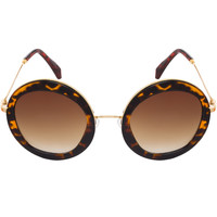 A.J. Sunglasses in Leopard