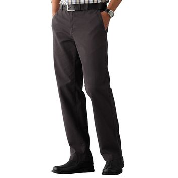 SONOMA life + style Twill Straight-Fit Flat-Front Pants